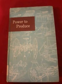 Power to Produce 'The Yearbook of Agriculture'  *copyright 1960