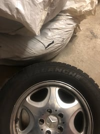 1999 Mercedes CL-Class rims with winter tires Vaughan