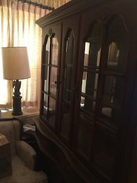Oak China cabinet Baltimore, 21229