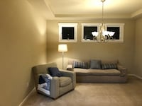 Crate and Barrel couch and love seat