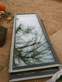 Two double glass doors 36 by 89 Lubbock, 79415
