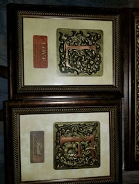 two brown wooden framed wall decors Baltimore