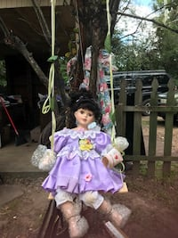 Collectible porcelain swing doll New Chapel Hill, 75707