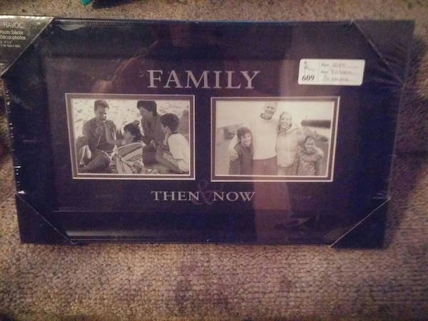 Used Family Then Now Photo Frame For Sale In Ingersoll Letgo