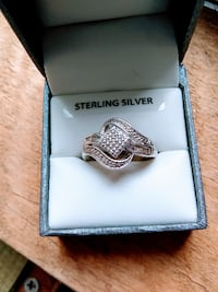 Sterling Silver 1/4 ct. Diamond Ring Crump