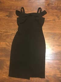 Black dress size 10 Mission, 78574