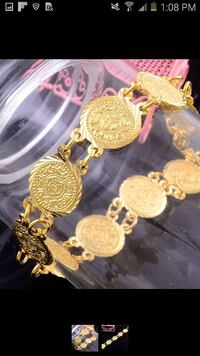real gold plated bracelet  Silver Spring, 20905