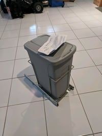brand new waste / garbage/ recycling bin with sliding track Vaughan, L4L 7H8