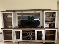 White and brown wooden kitchen cabinet Elk Grove, 95624