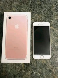 iPhone 7 32GB For Sale (Rose Gold)  $160 Silver Spring