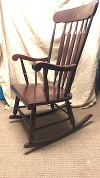 Rocking chair Solid wood rocker made in USA Bowie, 20720