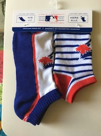 Official Blue Jays His and Hers Socks $9 Brampton, L6S 4B3