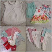 Baby girl clothes *large lot!!* Corunna, N0N 1G0
