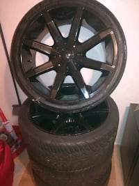 Set of Tires with Rims Hackensack, 07601