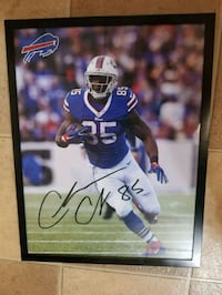 Charles clay autographed photo Gasport, 14067