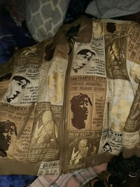 2pac leather jacket Woodbine, 21797