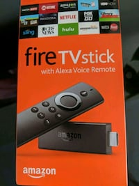 Amazon tv fire stick 2nd generation with alexa  Oakville, L6H 7C4