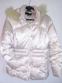white zip-up jacket Edmonton, T5H 3H9