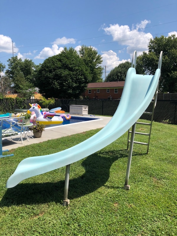 Swimming pool sliding board. Best offer or trades considered