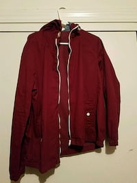 red zip-up jacket Salinas, 93901