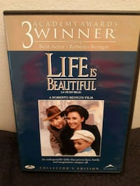 Life is Beautiful 3 academy awards movie case