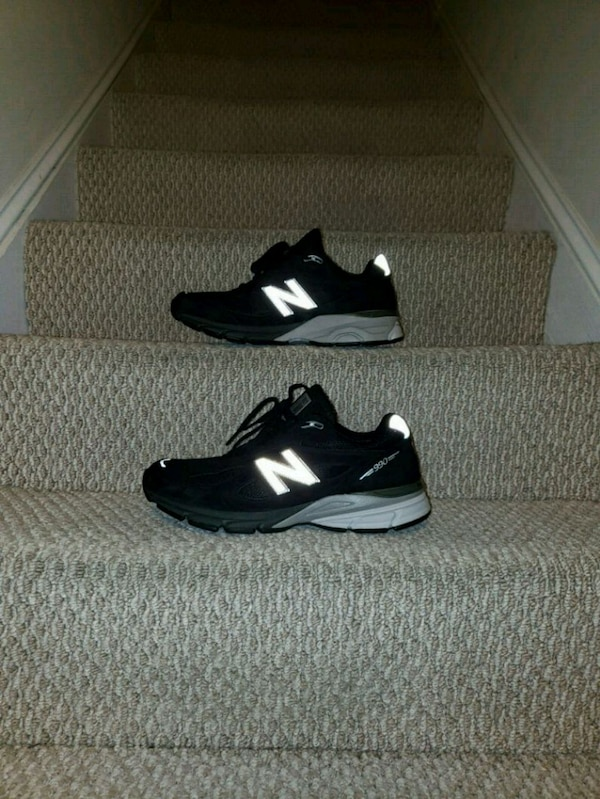 outlet store edd0e 90eb3 New balance 990v4 Kith black