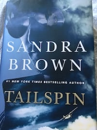 Sandra brown hard cover Tailspin Barrie, L4N