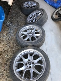 Stock Mini Cooper S wheels and tires  Santa Clara, 95054