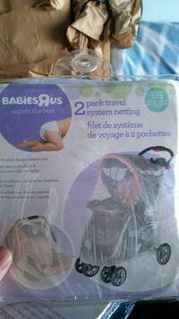 babiesrus 2 pack travel system netting pack Antioch, 94531