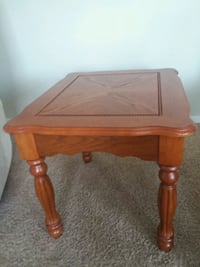 brown wooden side table with drawer Monroe, 48161