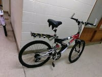 Red and White suspension Mongoose Bike for Sale. Norfolk, 23503