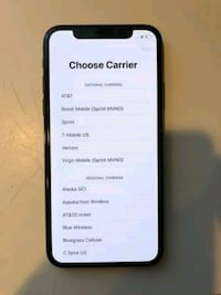 iPhone X 256GB (UNLOCKED) - $400   Washington