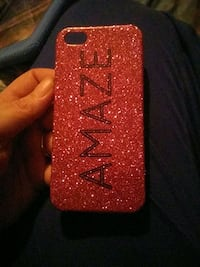 red glitter Amaze iPhone case Pittsburgh, 15210
