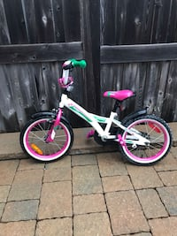 white and pink BMX bike Barrie, L4M 7G5