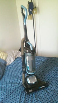 black and gray upright vacuum cleaner Riverside, 92504