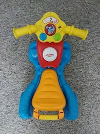 toddler's blue, red, and yellow Playskol plastic ride on toy Springfield, 45505
