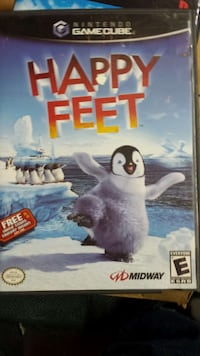 nintendo gamecube happy feet Whittier, 90604