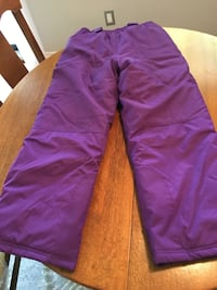 Snow pants. Girls size 14 & 12.  $25 for both  Burlington, L7L 4K5