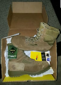 pair of brown Timberland work boots Durham, 27707