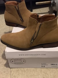 Steven Madden Male Suede Boots  Downey, 90242