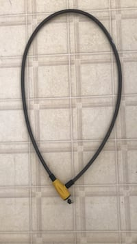 bike lock with key.  about 3' long Indianapolis, 46214