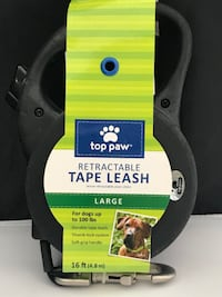 Top Paw Retractable Leash for Large Dog [over 100 lbs]. Brand New.16Ft. Windsor