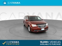 2015 Chrysler Town and Country mini-van Touring Minivan 4D RED Brentwood