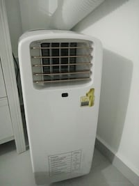 white and gray portable air cooler Singapore, 738602