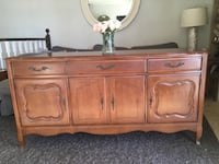 Delivery -antique French country sideboard  Toronto, M9B 3C6