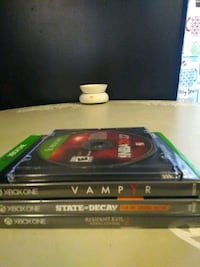 Xbox one game lot Waterford, 16441