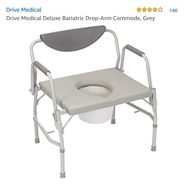 Bariatric Handicap Commode