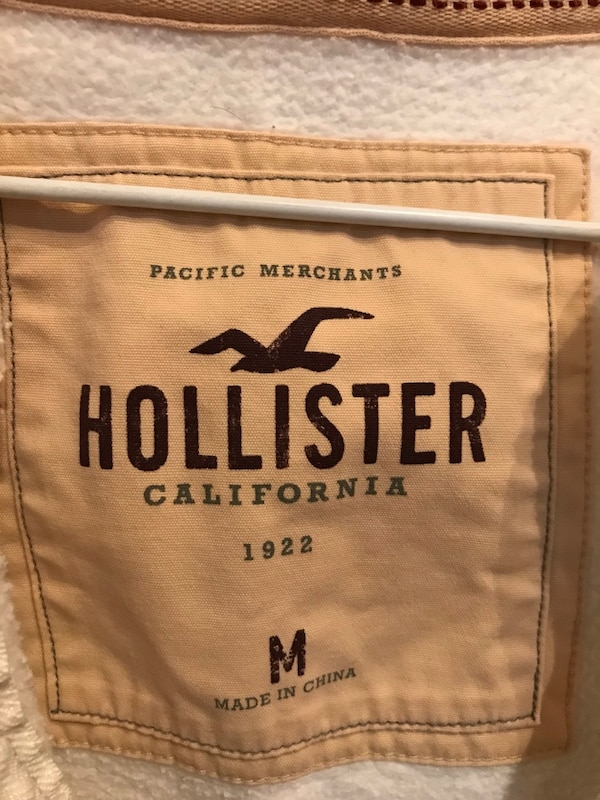 Hollister zip-up hoodie 2
