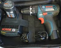 "Bosch 12v Max 3/8"" hammer drill w/ 2 batteries and charger. Brand new Lindenhurst, 11757"