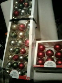 Glass xmass balls